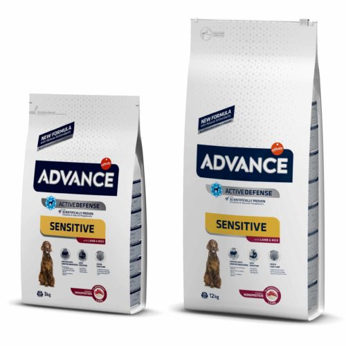 ADVANCE ADULT SENSITIVE LAMB & RICE ( 3 KG - 12 KG )
