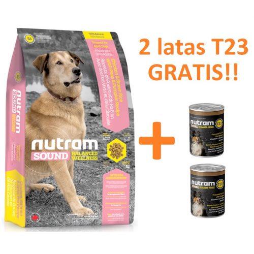 S6 NUTRAM SOUND ADULT DOG 13.6 KG PROMO